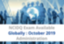 NCIDQ Exam Available Globally for Octobe