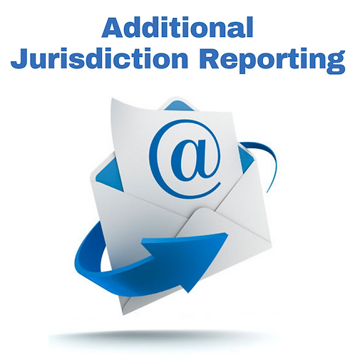Additional Jurisdiction Reporting