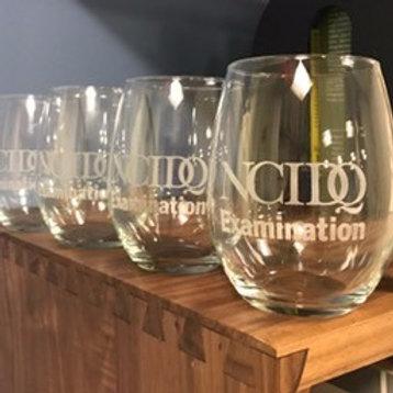 NCIDQ Wine Glasses, set of 4