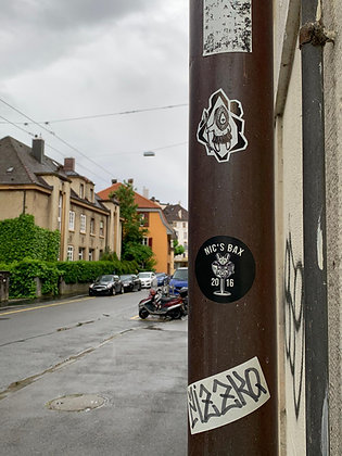 NICSBAX Deadrat Stickers