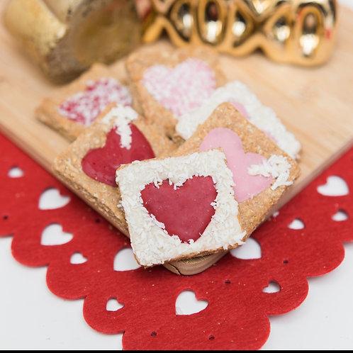 6 Valentines Heart Treats