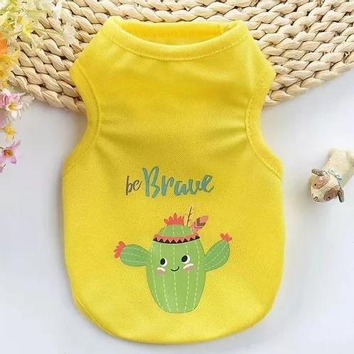 Be Brave Cactus Vest