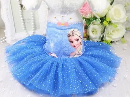 Frozen Tutu Elsa Dress