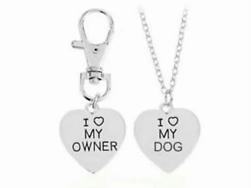 Matching Necklace And Dog Tag