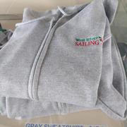 Grey Sweatshirt (Full Zip)
