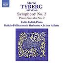 Fabio Bidini Tyberg Piano Sonata No.2 Buffalo Philharmonic Recording CD