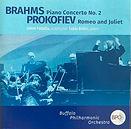 Fabio Bidini Brahms Piano Concerto No.2 Buffalo Philharmonic Recording CD