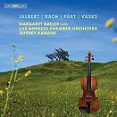 Margaret Batjer Jalbert Bach Pärt Fratres Vasks Violin Concerto Kahane Recording CD