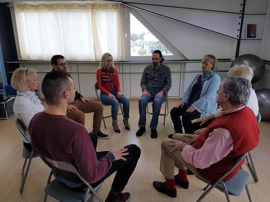 Séance collective en cabinet