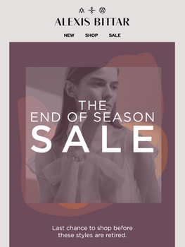 Design for the End of Season Sale