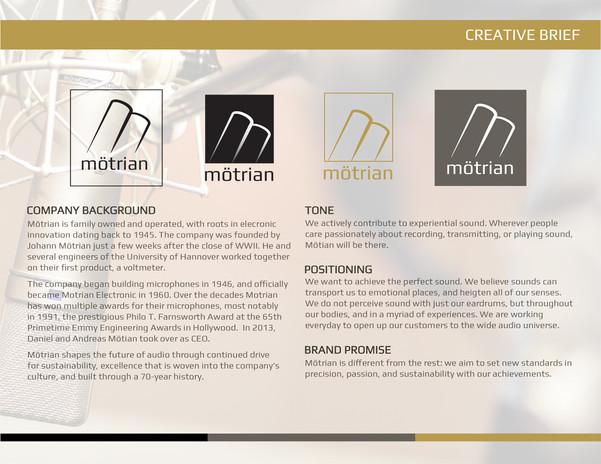 Motrian Branding
