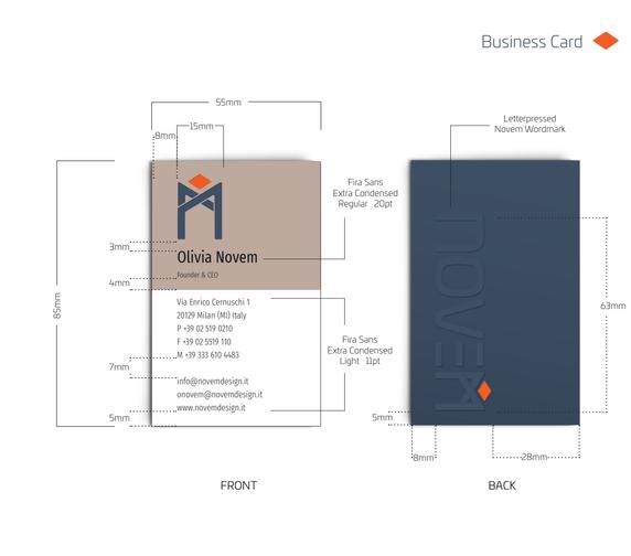 Business Card & Logo lock up
