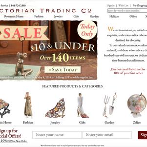 Victorian Trading Company Website