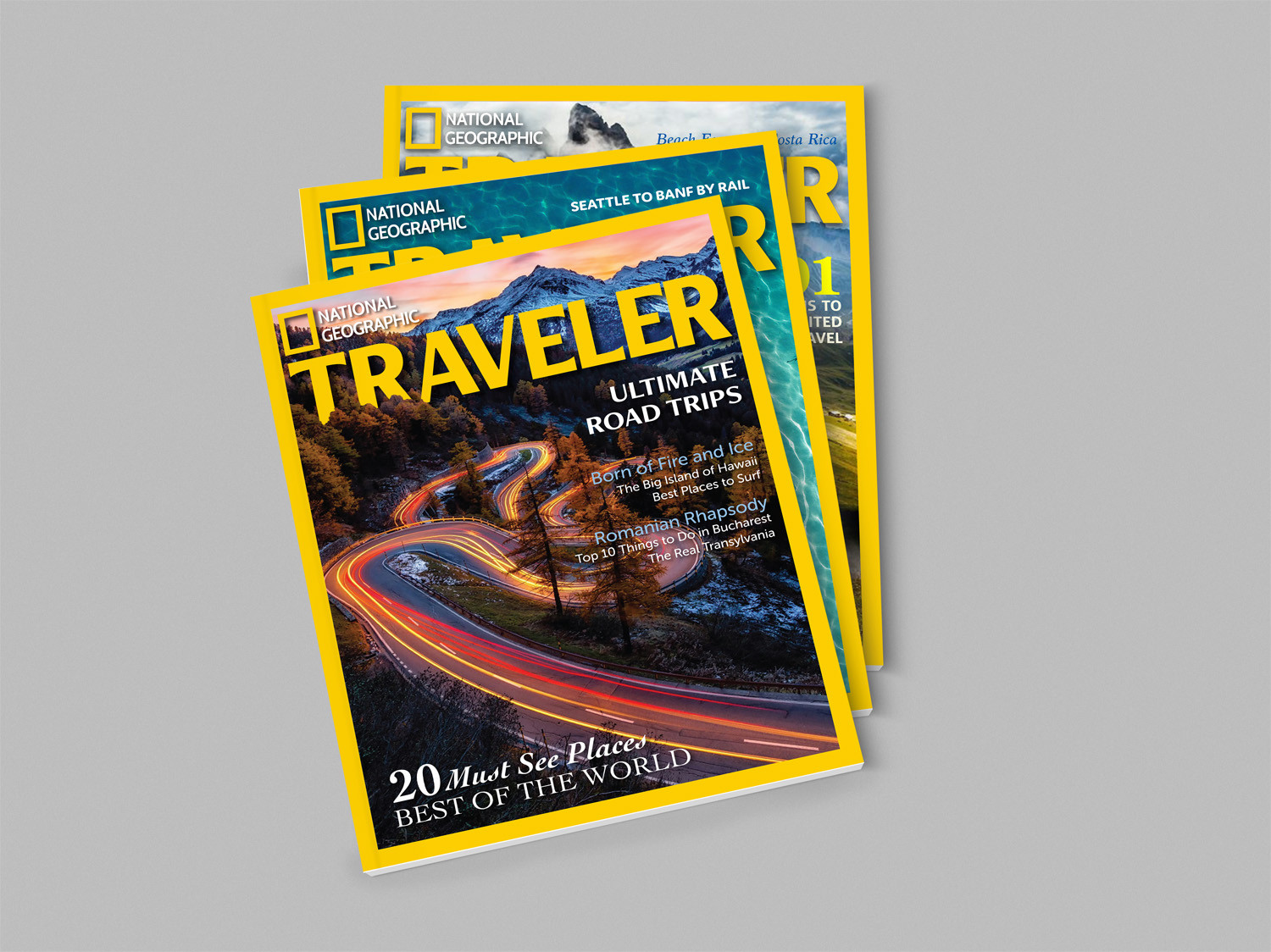 Ntl Geographic Traveler Cover Designs