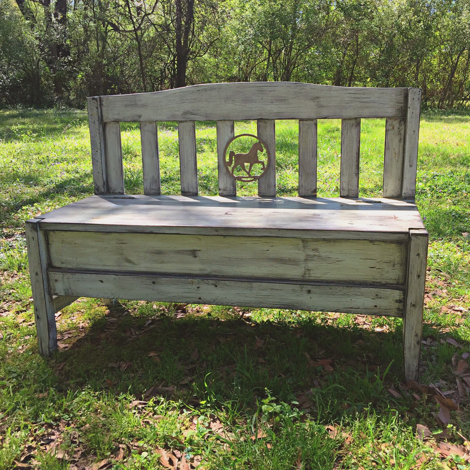 Revitalized Bench with added details