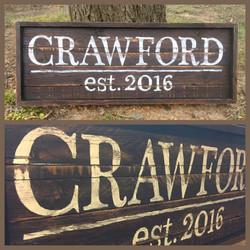 Crawford Est. 2016
