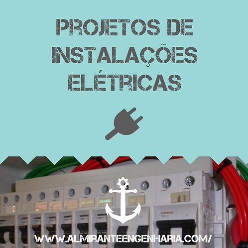 """Projeto de instalações elétricas - """"Projeto Pronto"""""""