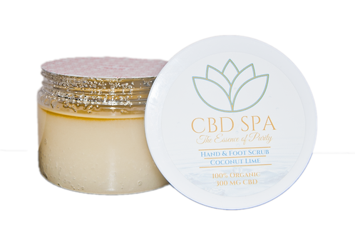 CBD Spa Broad Spectrum Hemp CBD Salt Scrub