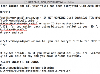 First known OS X ransomware spotted in Mac torrenting app