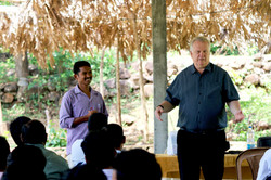 Dr. Johann Schonken in India