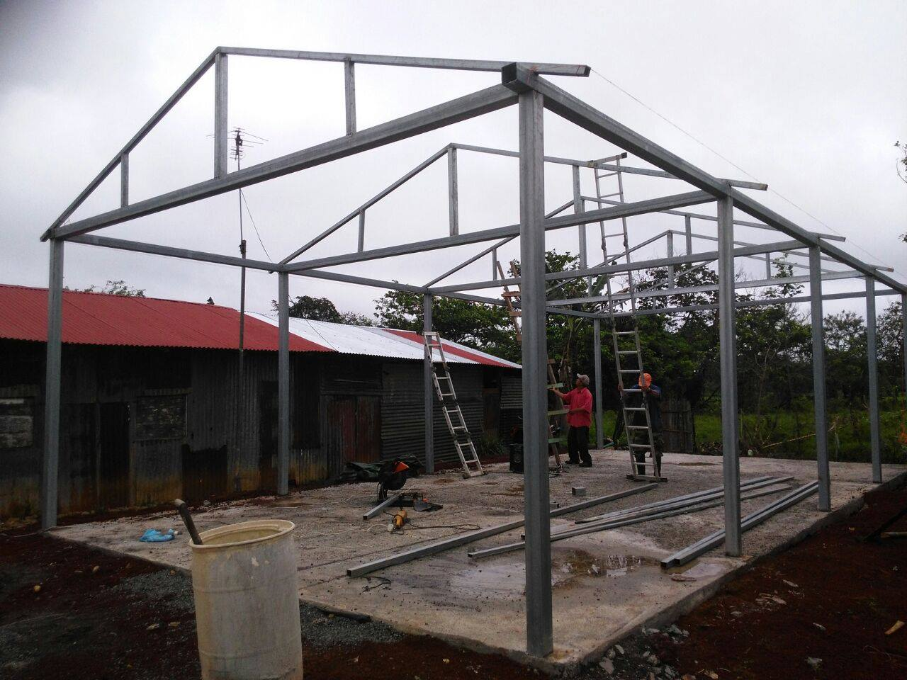Building a church in Costa Rica