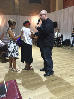 Praying for a lady in South Africa