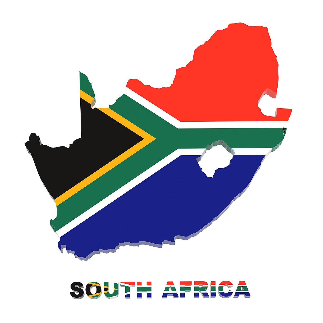 bigstock-South-Africa-Map-With-Flag-I-30