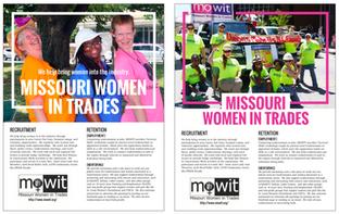 Missouri Women in Trades Flyers