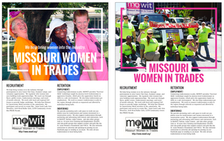 Missouri Women in Trades Flyers