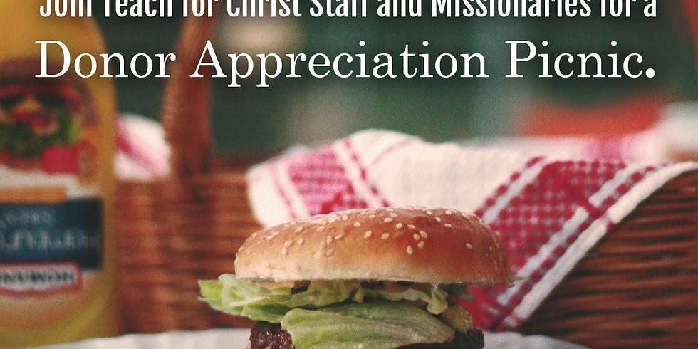 Donor Appreciation Picnic