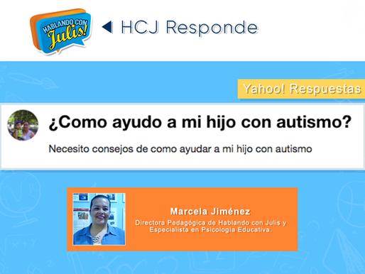 ¿Como ayudo a mi hijo con autismo?