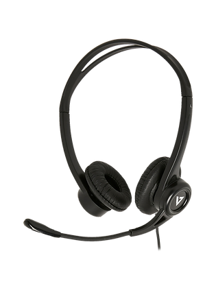V7 Essentials USB StereoHeadset with Microphone