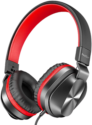PeohZarr On-Ear Headphones with Microphone