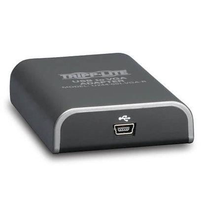 USB 2.0 to VGA Dual-Monitor Adapter