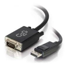 C2G 6ft DisplayPort male to VGA male