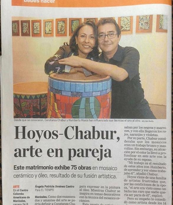 Constanza Chabur and Hernando Hoyos