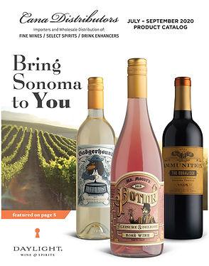 Cana Distributors Portfolio July Sept 20