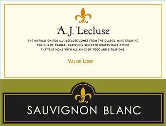 Lecluse IGP Loire SB front label-All Sta