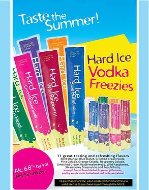 Hard Ice Vodka Pops