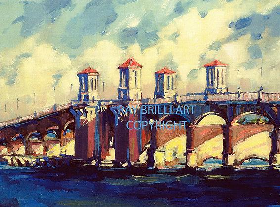 Old Bridge of Lions Sunset