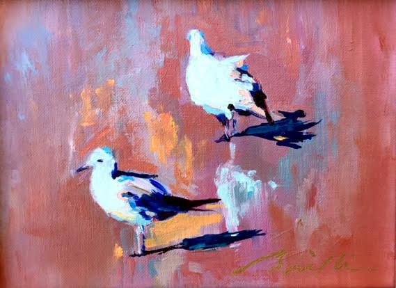 SOLD -Seagull #3