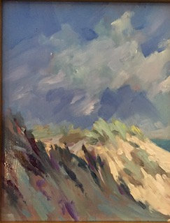 SOLD Sunlit Dunes- Homage to Edward Seago