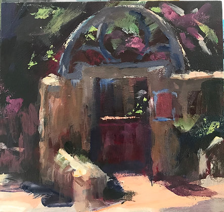 SOLD  THE OLD RED GATE ST AUGUSTINE