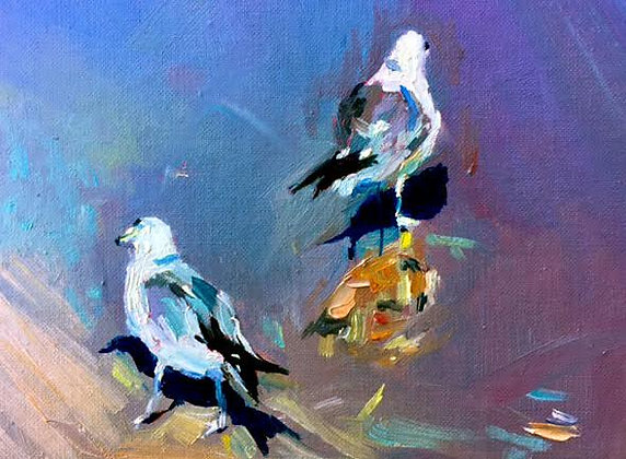 SOLD -Seagull #2