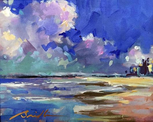 SOLD -Daytona Beach Shores - Framed