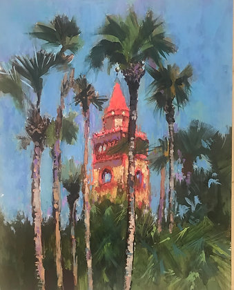 SOLD -STANDING  TALL - Flagler College Bell Tower
