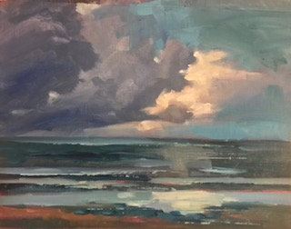 "SOLD ""Storm Coming In"""