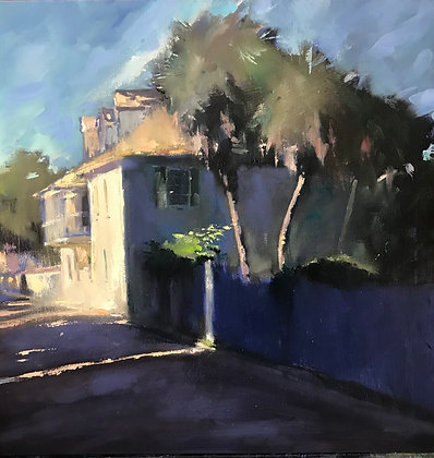 SOLD ——NEW ( Large) SUNLIT MORNING AVILES STREET