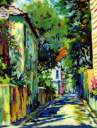 Sunlit Charlotte Street