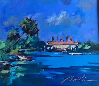 SOLD. Flagler College from Maria Sanchez Lake